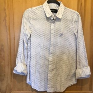 New Dsquared2 Button Down With D2 Monogram!
